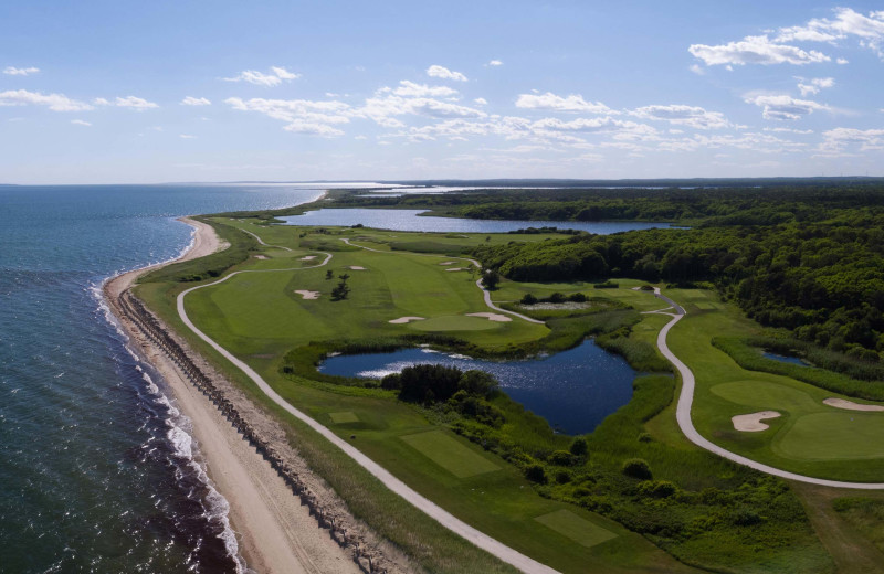 Golf course at New Seabury Resort.