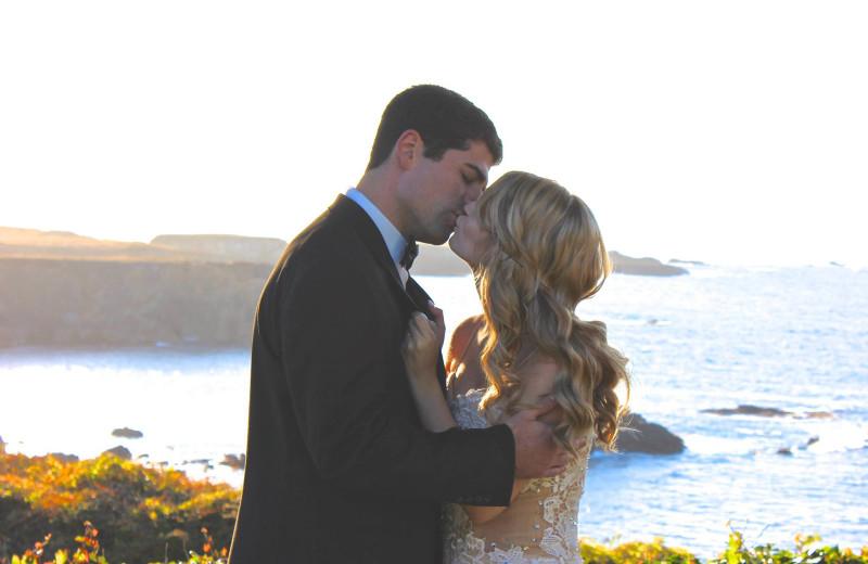 Weddings at Agate Cove Inn.