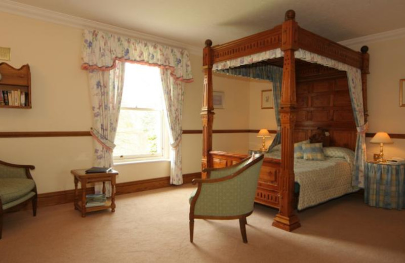 Guest suite at Dale Head Hall.