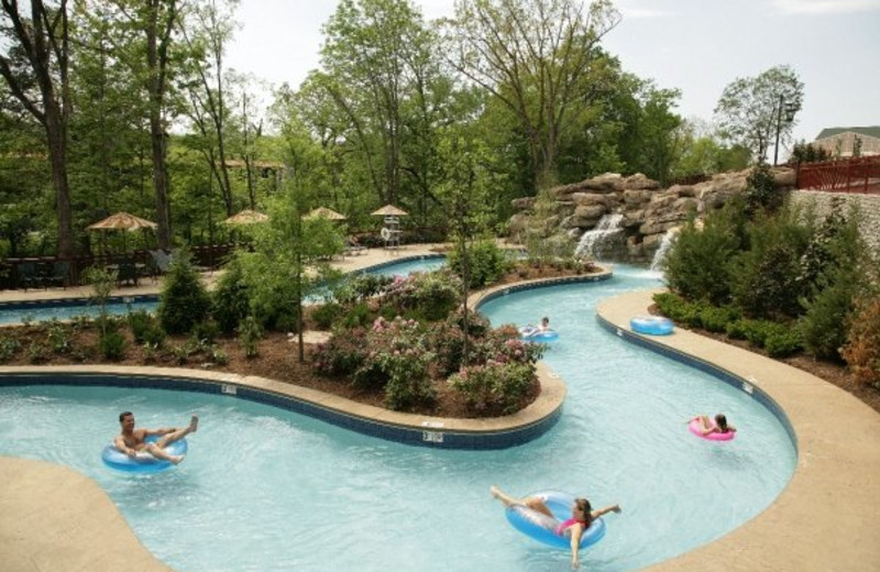 Lazy River at RiverStone Resort.