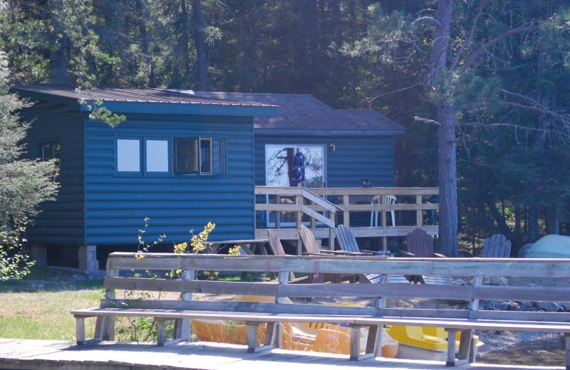 Lakeside cabin at Tamarack Resort.