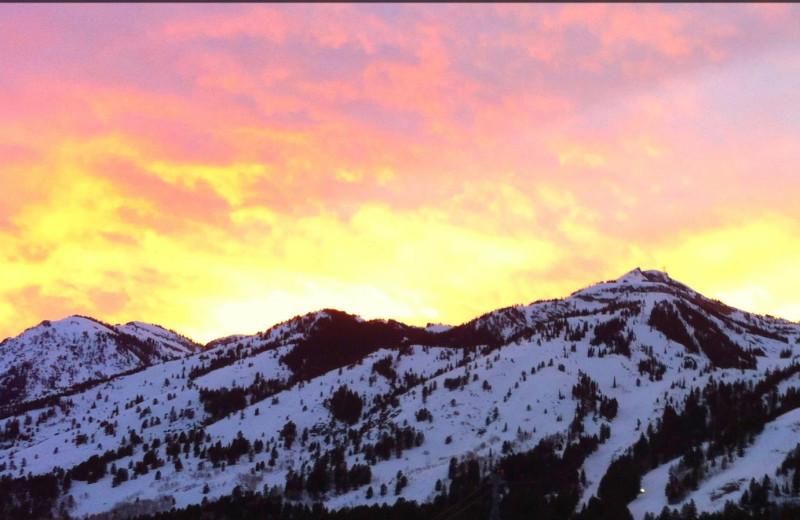 Mountains at Wyoming Inn of Jackson Hole.