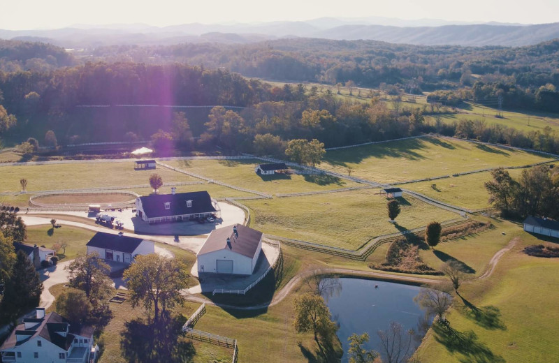 80+ Pristine Acres Make Up The Horse Shoe Farm
