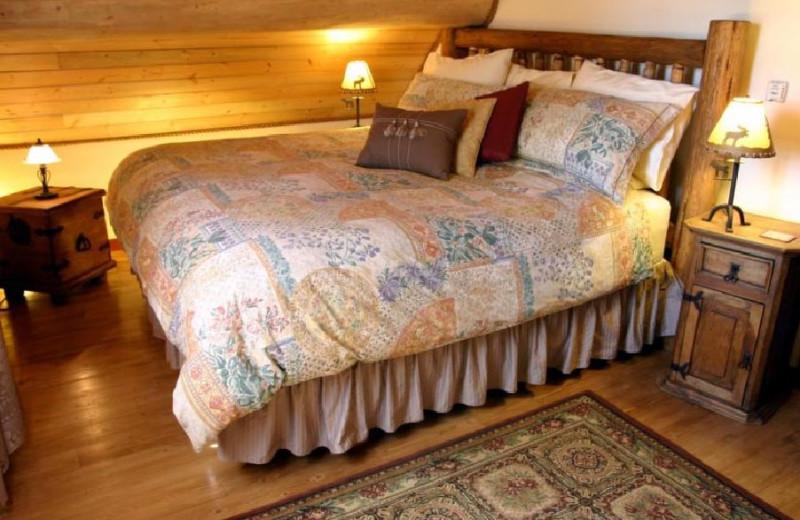 Cariboo Suite Bed at Siwash Lake Ranch
