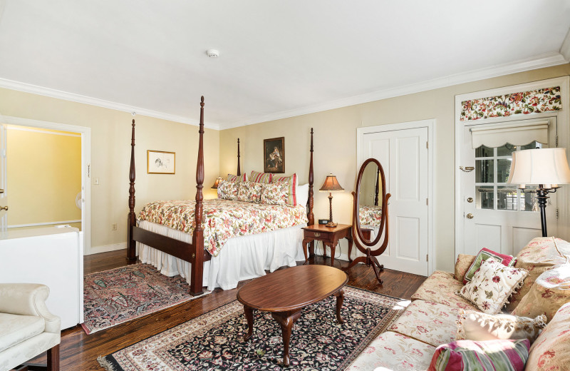 Guest room at Kent Manor Inn.