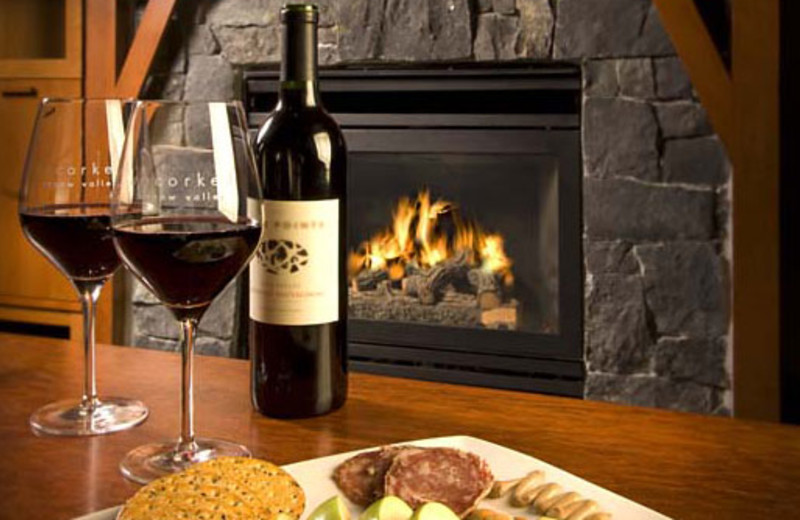 Romantic Evening at The Village at Squaw Valley