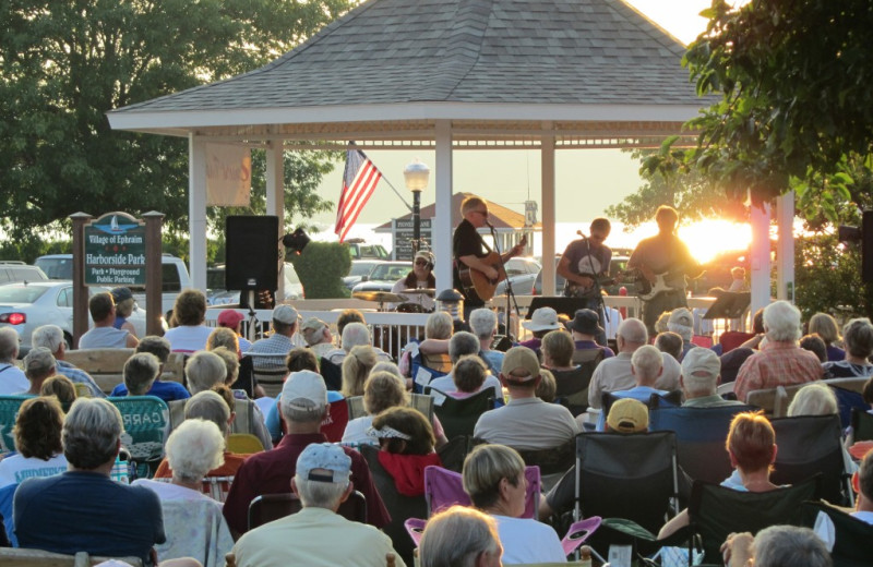 Music festival at Edgewater Resort.