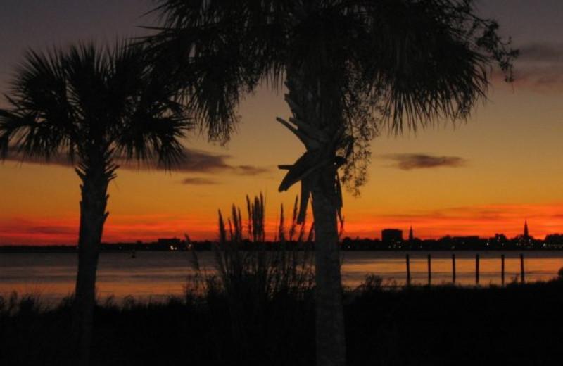Beautiful Sunsets at  Charleston Harbor Resort