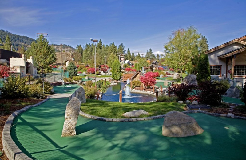Putt Putt Course at Icicle Village Resort