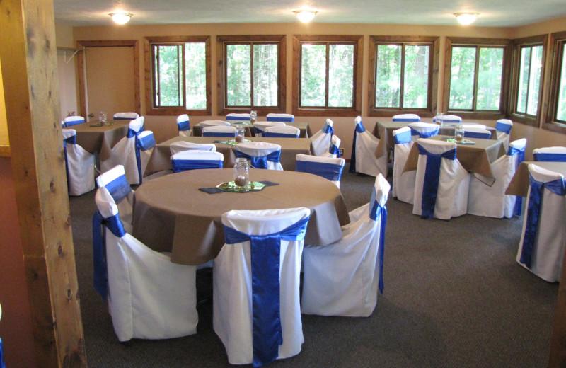 Wedding at Buckhorn Resort.