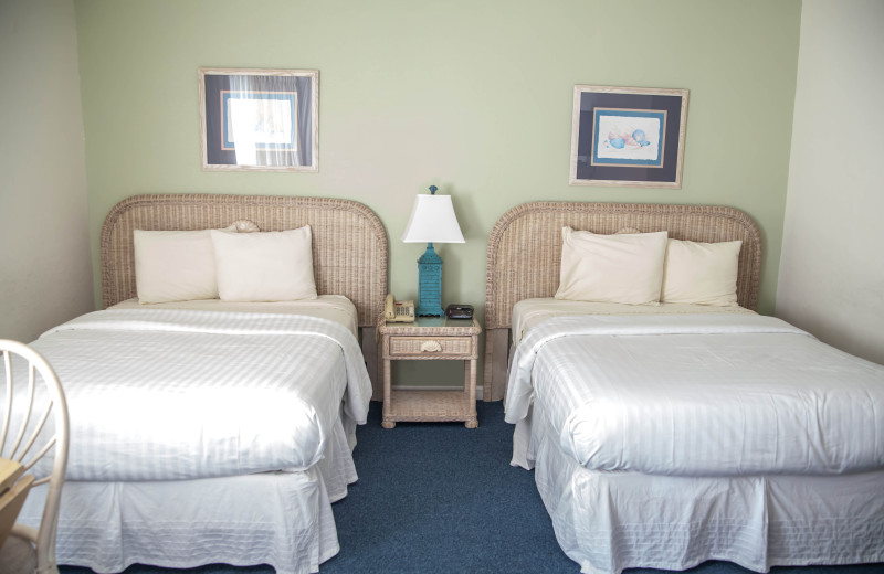 Rental bedroom at The Winds Resort Beach Club.