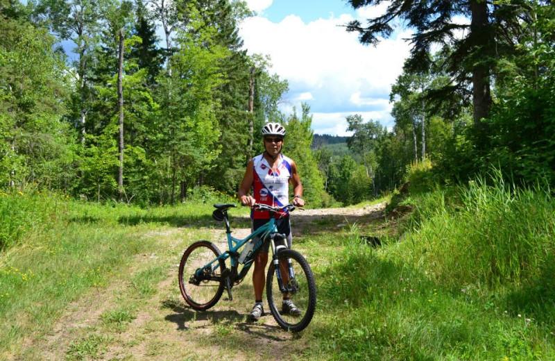 Biking at Giants Ridge Golf and Ski Resort.