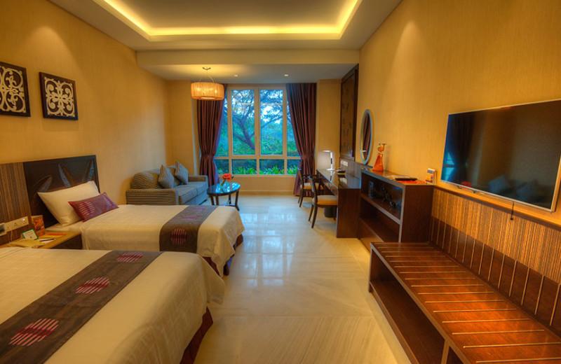 Guest room at Hotel Equatorial Bangi.