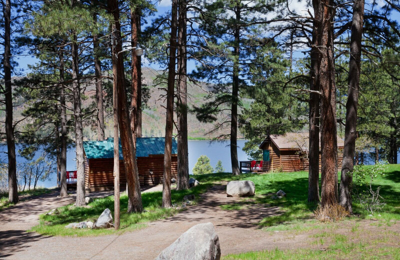 Cabins at Elk Point Lodge.