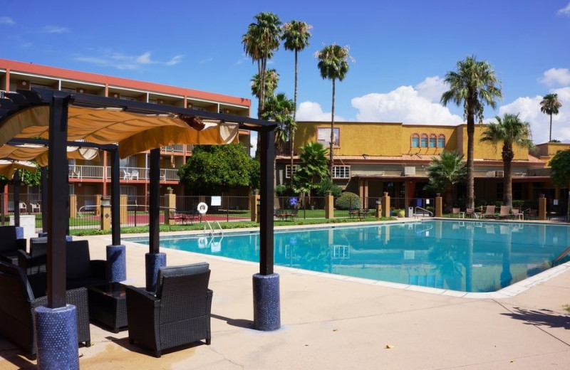 Outdoor pool at Hotel Tucson City Center.
