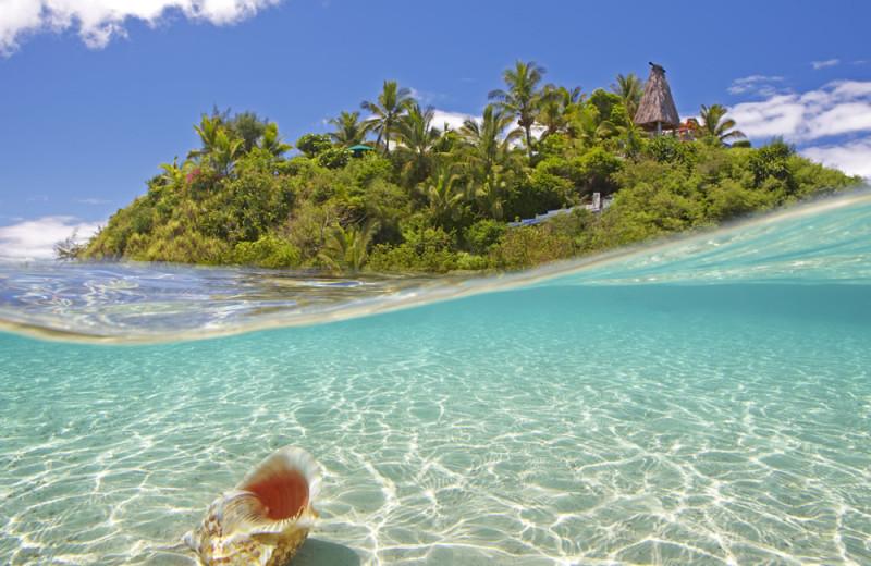 Exterior view of Wadigi Island.