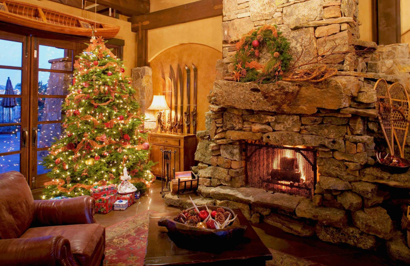 Christmas at Pronghorn Resort.