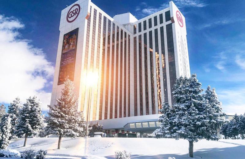 Winter at Grand Sierra Resort and Casino.
