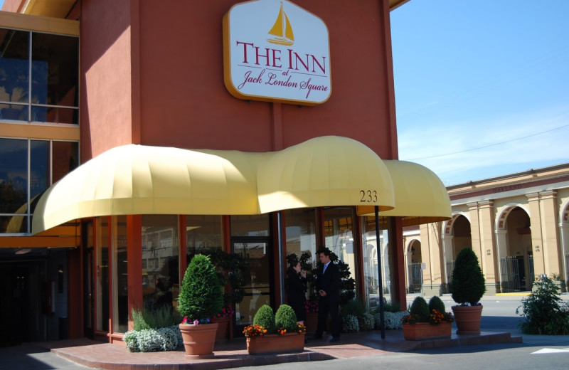 Exterior view of The Inn at Jack London Square.