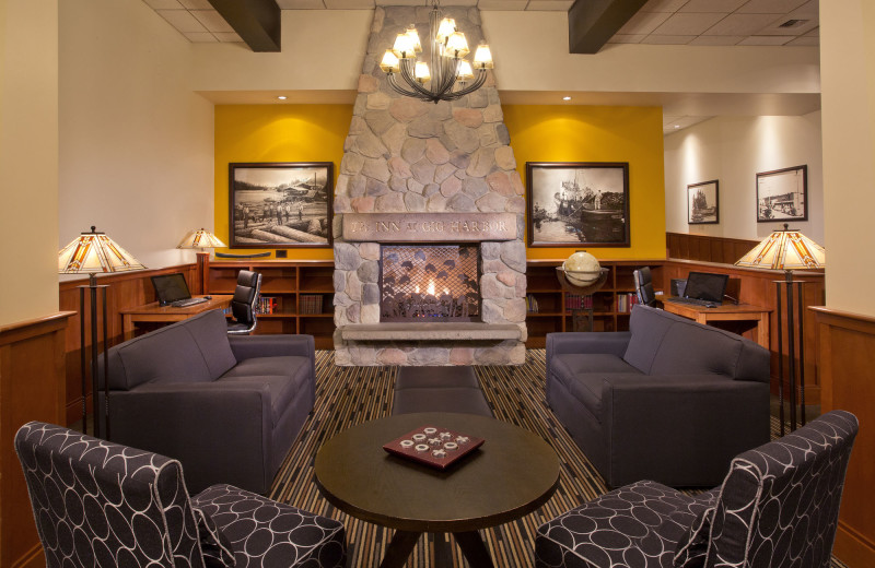 Lobby at The Inn at Gig Harbor.