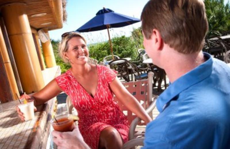 Drinks at the Bar at SeaCrest Oceanfront Resort
