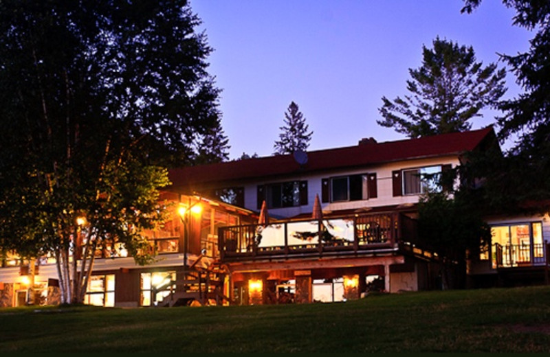 Exterior view of Lumina Resort.