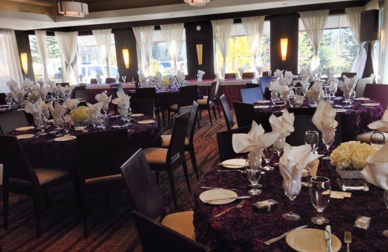 Banquets at Grande Rockies Resort.