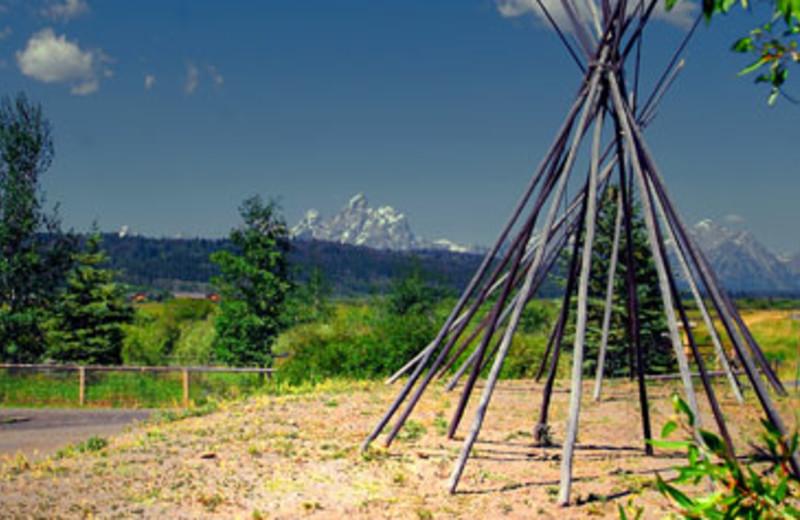 Beautiful Scenery at Teton Range Resort