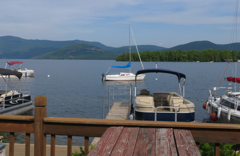 Lake view at Contessa Resort.