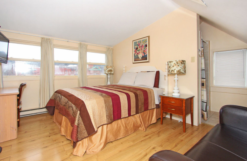 Guest room at Gower House B&B.
