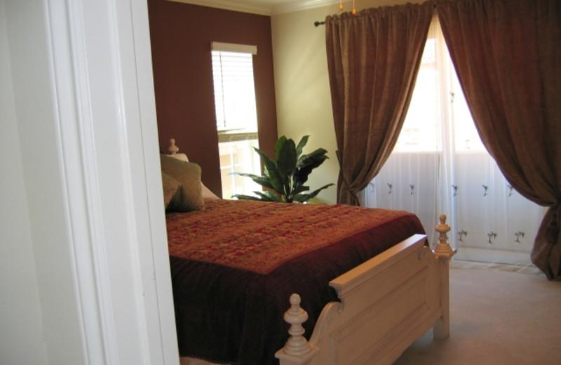 Rental bedroom at A Carlsbad Vacation Rental.