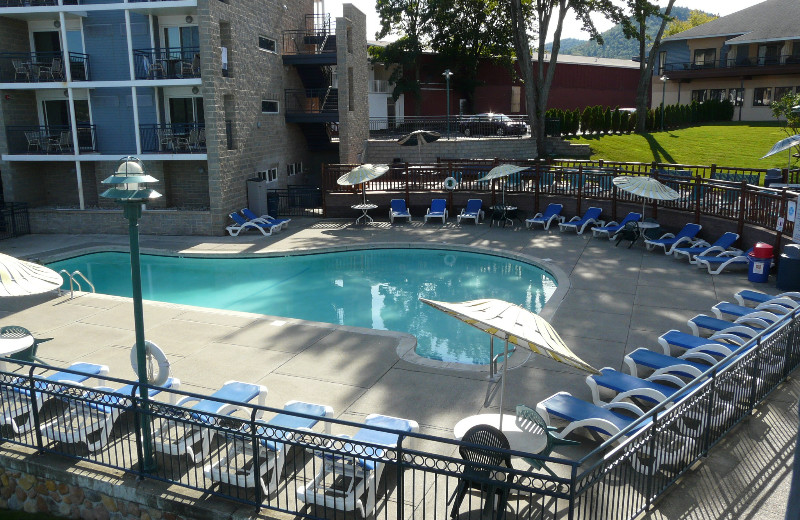 Pool at Surfside on the Lake.
