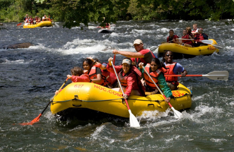 River rafting at Laurel Ridge Country Club & Event Center.