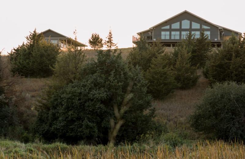Villa exterior at Granite Springs Lodge.