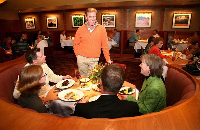 Dining at The Lodge At Vail.