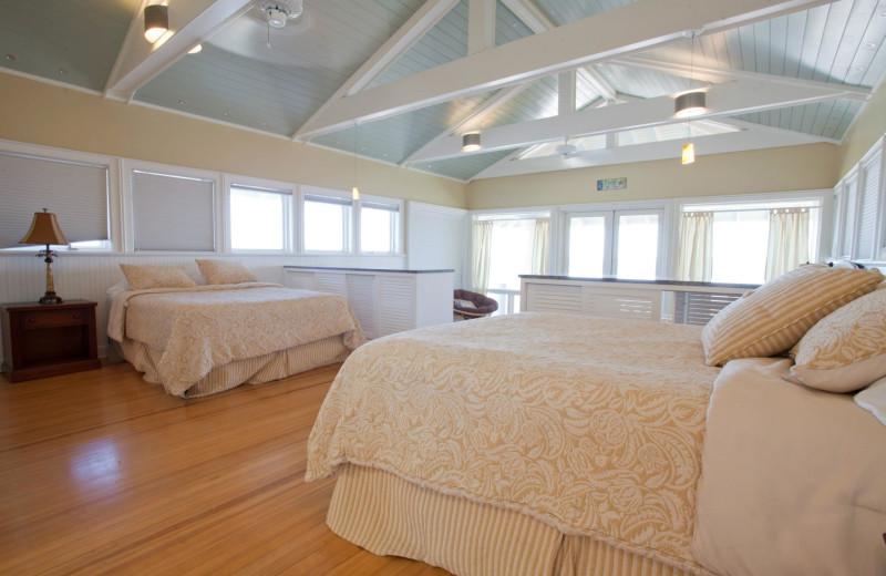 Rental bedroom at Paradise Beach Homes.