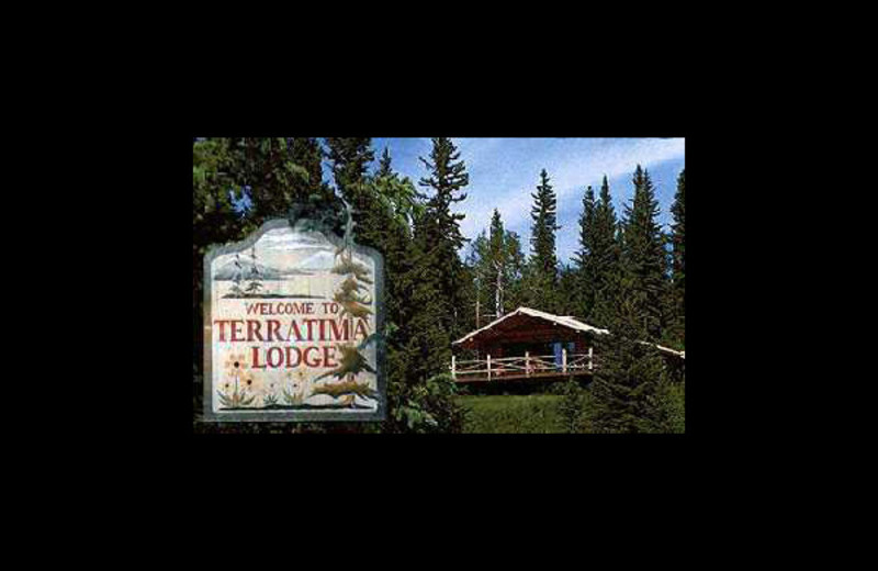 Exterior view of Terratima Lodge.