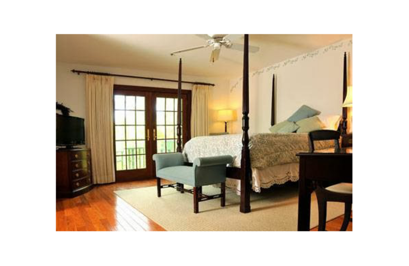 Guest room at Southern Palm Bed & Breakfast.