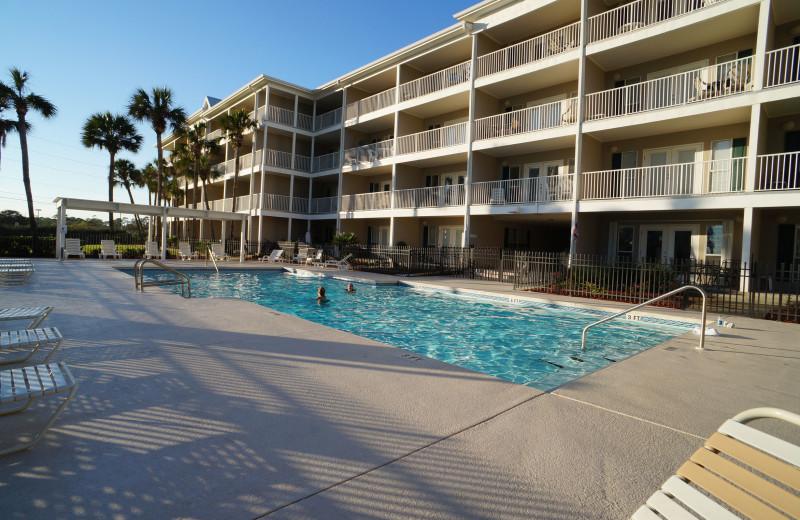 Outdoor pool at Grand Caribbean Resort.