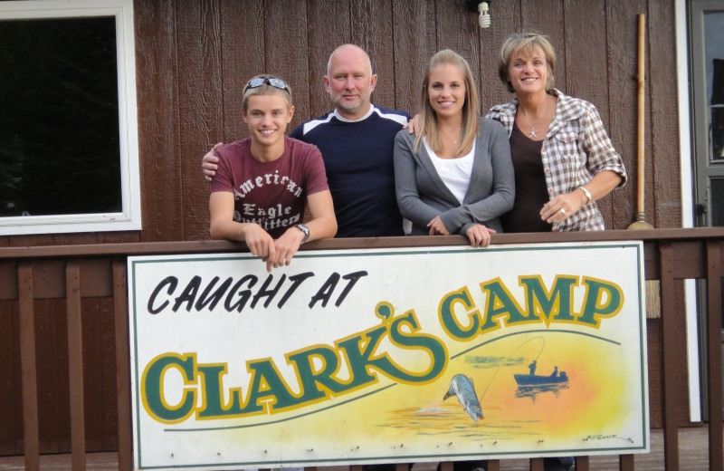 Group at Clark's Resorts & Outposts.