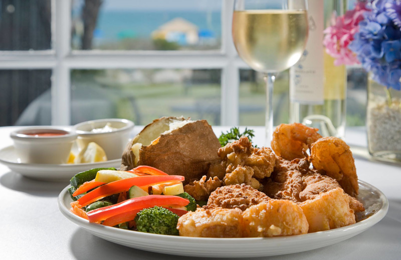 Dining at Caribbean Resort & Villas.