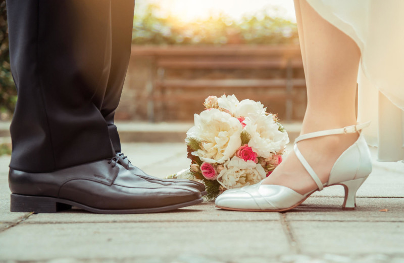 Weddings at Tanglewood Resort and Conference Center.