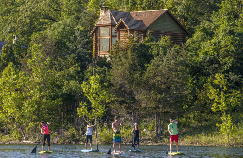 Stand Up Paddle Boarding at Big Cedar Lodge