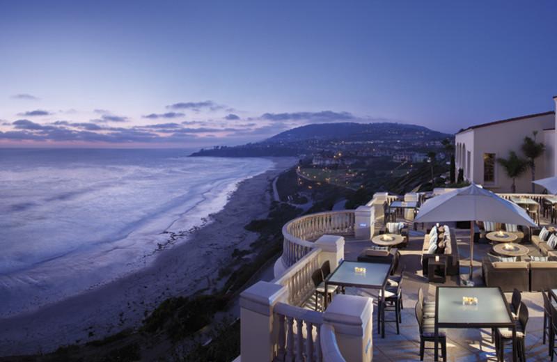 Beach view at The Ritz-Carlton, Laguna Niguel.