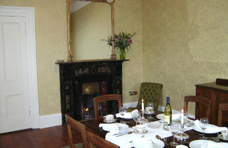 Dining at Old Parochial House.