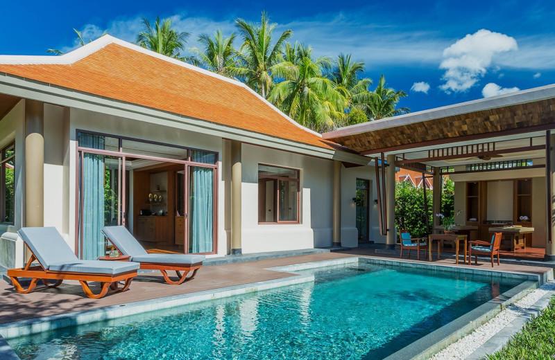 Private pool at Santiburi Resort