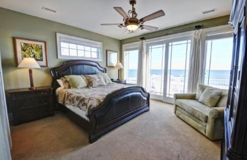 Rental bedroom at Treasure Realty.