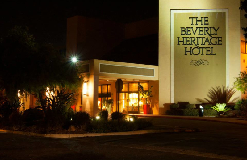 Exterior view of The Beverly Heritage.
