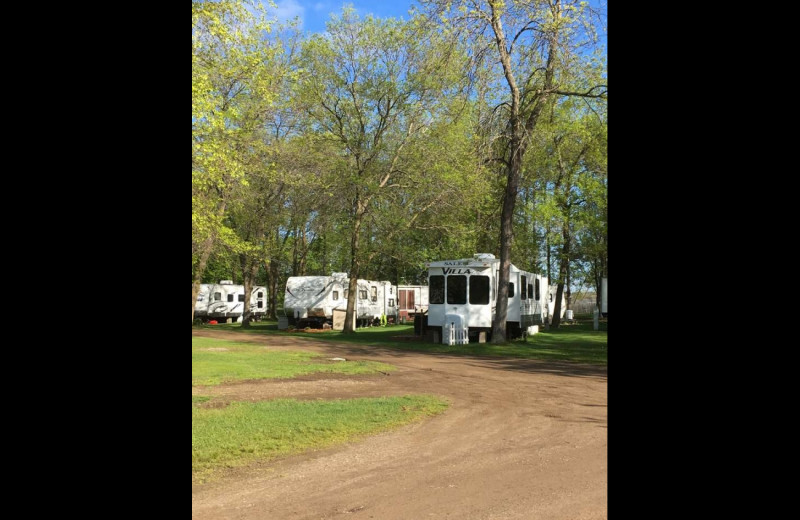 RV camping at Sullivans Resort & Campground.
