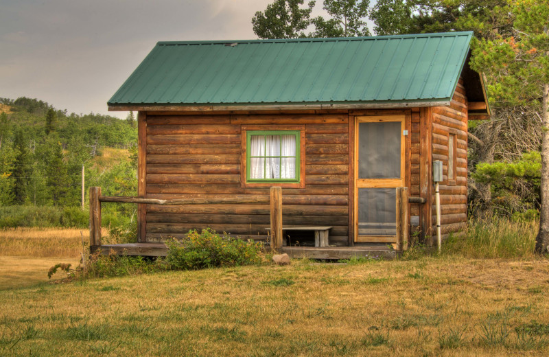 Guest Cabin at Rising Wolf Ranch.